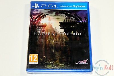 Jeu Natural Doctrine [VF] sur Playstation 4 / PS4 NEUF sous Blister