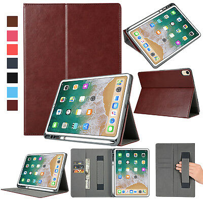 Case for Apple iPad Pro 11-Inch 2018 Smart Case Leather Wallet Card Slots Cover
