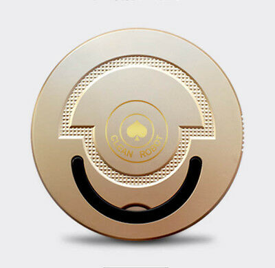 Luxury gold Automatic Self Navigated Smart Robot Vacuum Sweeper Cleaner Spades A