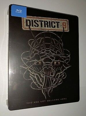 District 9 Blu-Ray Steelbook Brand New Factory Sealed Limited Edition