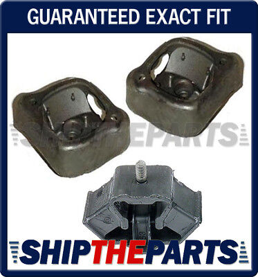 For Mercedes W126 350SD 350SDL Pair Set of Left /& Right Engine Motor Mounts OES