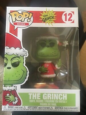 ac7c983f9bd Funko POP! Books - The Grinch Vinyl Figure - SANTA GRINCH - New in Box