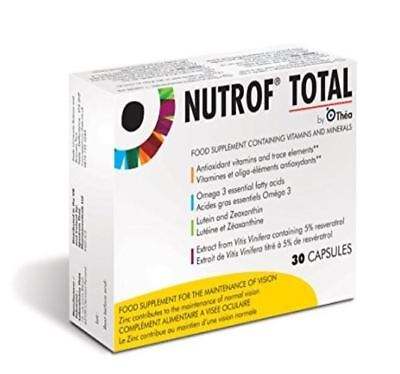 Nutrof Total Food Supplement for the Maintenance of Vision - 30 Capsules