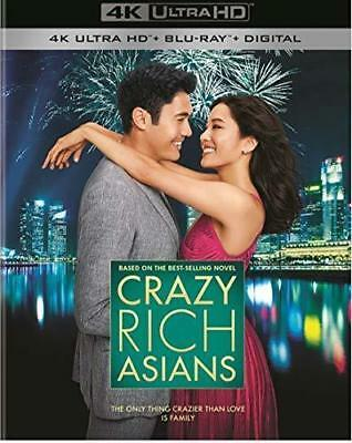 PREORDER: CRAZY RICH ASIANS   (4K ULTRA HD ) - Blu Ray -Region free