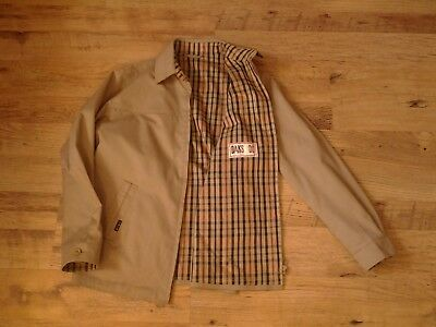 Vintage Daks Harrington Bomber Jacket , Made in Great Britain , Size M