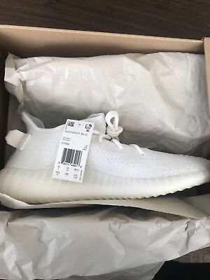 a8246e3ae3237 NEW IN BOX Yeezy Boost 350 Creme Triple White V2 Size 10 -  400.00 ...