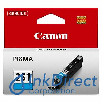 Genuine Canon  6514B001AA  CLI-251C Ink Jet Cartridge Cyan