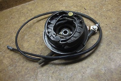 2014 Jonway Scooter 49CC 49 50 CC Front Drum Brake Hub Shoes Cable Cover Pads 14