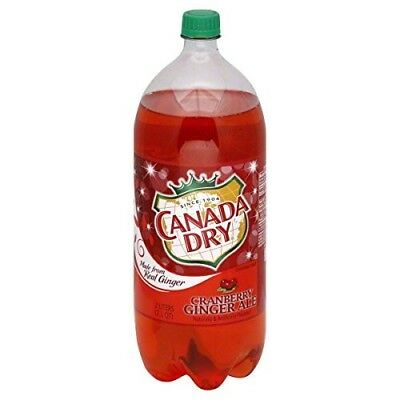 Cranberry Ginger Ale Canada Dry 500ml Bottle Soda Pop Soft Drink Canada Limited