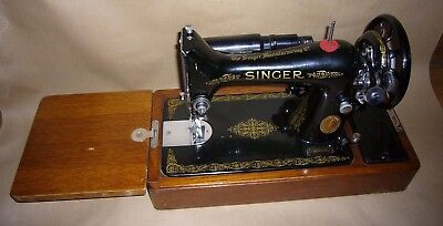 Vintage Electric 99k Singer Sewing Machine With Case  EF 628227