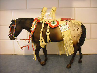 Breyer Indian Pony Special Run Leather Tack Leotie Gift Set Sr 2008 Nez Perce