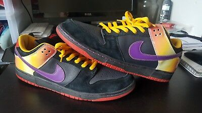huge selection of b04c0 e8661 Nike Dunk Sb Low Qs Guns N Roses Rare Size 15 Pe Nrg Max Trd Nrg