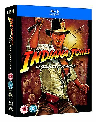 Indiana Jones The Complete Adventures (Blu-ray) *BRAND NEW*