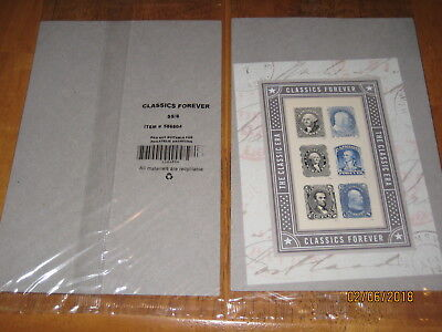 "Sheet of (6) The Classics Era ""Classics Forever"" USPS Forever Stamps NEW."