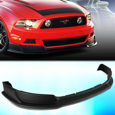 2013 Mustang Front Bumper >> For 2013 2014 Ford Mustang Gt Style Front Bumper Chin Lip Spoiler