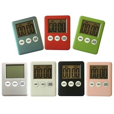 Multi-color Kitchen Timers LCD Stopwatch Reminder Alarm Cooking Alarm Clock New