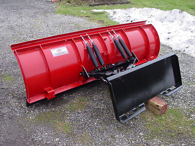Skid Steer / Tractor Quick Attach Snow Plow 8' Western Pro Plow