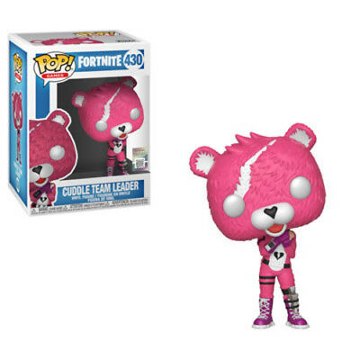 Fortnite - Cuddle Team Learder - Funko Pop! Games: (2018, Toy NUEVO)