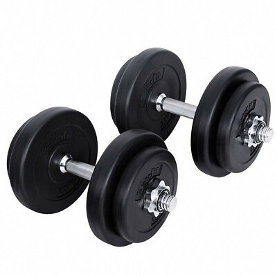 Everfit 20kg Dumbbell Set Weights Exercise Fitness Home Gym