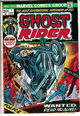 **ghost Rider #1-81 Lot Of 65 Comics**(1973-1983 Marvel)**bronze Age**vf To Vg**