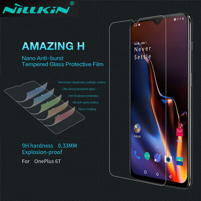 NILLKIN 9H 0.33mm Amazing H+ Tempered Glass Screen Protector For OnePlus 6T 6