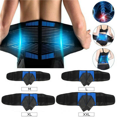 1X Ease Back Pain Comfortable Magnetic Posture Back Support Corrector Band Belt