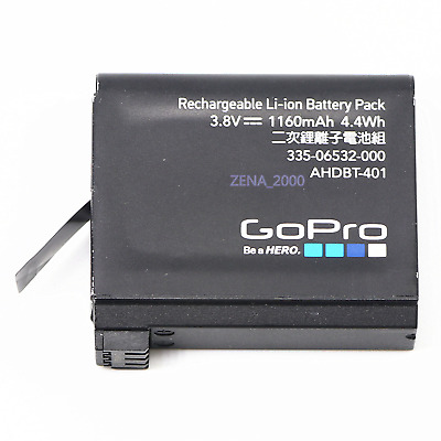 Genuine Gopro AHDBT-401 battery For Gopro Hero 4 HD Black Silver Camera