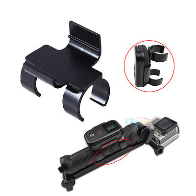 Selfie Stick Clip Lock Mount Holder for GoPro Hero 4 3+ 3 WiFi Remote Control BT