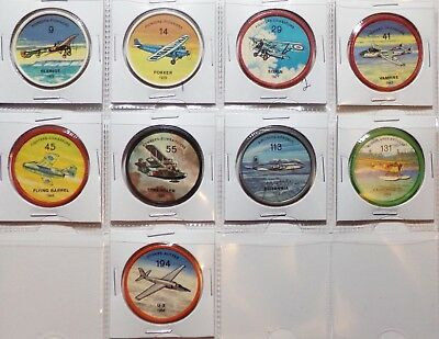 1960's JELLO & HOSTESS AIRPLANE COINS YOU CHOOSE U PICK NM FREE SHIP