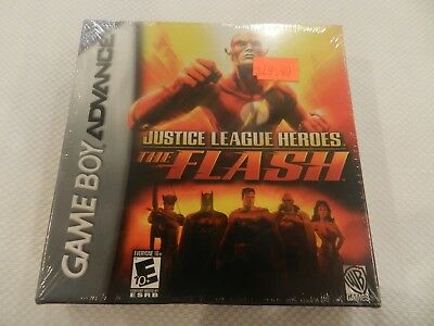 Justice League Heroes: The Flash Nintendo Game Boy Advance Game GBA New Sealed