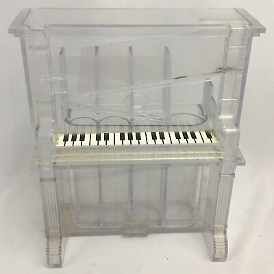Piano Bank Coin Sorter Clear Plastic