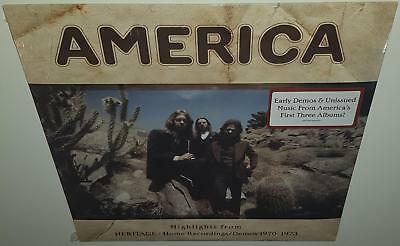 America Highlights From Heritage Home Recordings/demos 1970-1973 2018 Rsd Lp