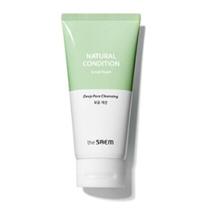 [THE SAEM] Natural Condition Scrub Foam_Deep pore cleansing 150ml