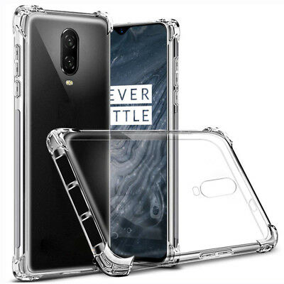 Ultra Slim Clear TPU Shockproof Silicone Case Cover for One Plus 6 6T/3T 5T Skin