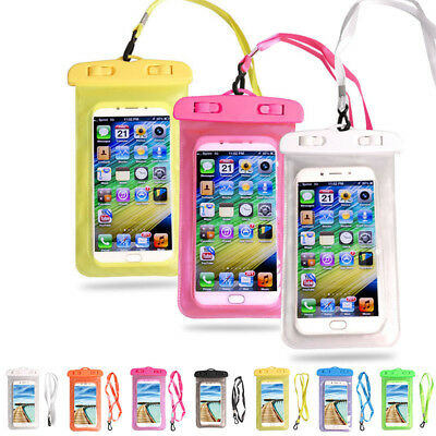 Easy Carry Waterproof Mobile Phone Holder Transparent Pouch Bag Long Lifespan