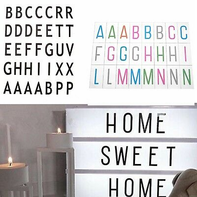 A4 A5 Cinematic Cinema Light Up Letter Box LED Sign Wedding Party Message Decors