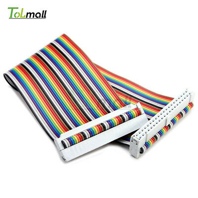 40PIN Way GPIO 20cm Rainbow Ribbon Cable for Raspberry Pi Model B / Model B+
