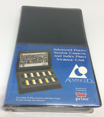Prinz (Amcam) Advanced Photo System Cassette and Index Print Storage Case (1996)