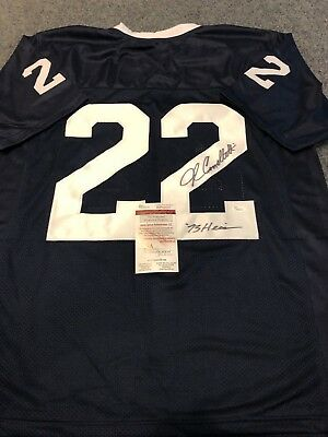 7b0424680 PENN STATE JOHN Cappelletti Autographed Signed Inscribed Jersey Jsa ...