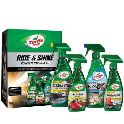 50718 Ride & Shine Complete Car Care Kit