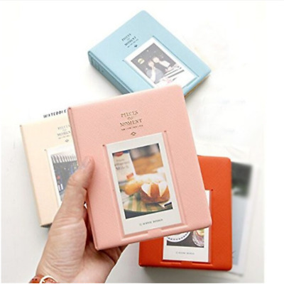 64Pocket Photo Album Mini Instant Picture Case Storage For Fujifilm Instax Album