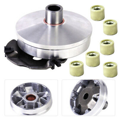 Racing Variator Kit W/ Roller Weights For 4 Stroke GY6 QMB139 50cc Scooter ATV *