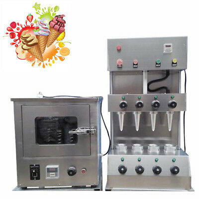 180-240pcs/hour New Type Pizza Cone Forming Make Machine Rotational Pizza Oven