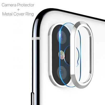 2 X Back Rear Camera Lens Tempered Glass Protector For Apple iPhone Xs Max XS X