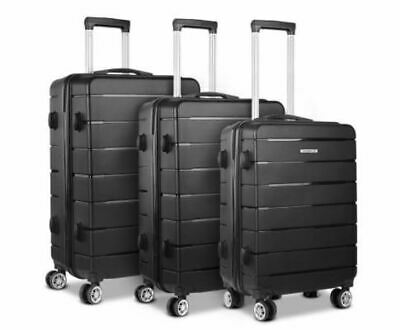 Wanderlite 3PC Luggage Suitcase Trolley