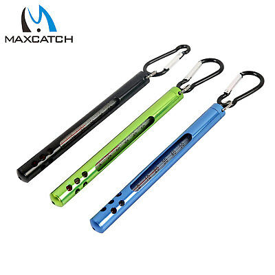 Maxcatch Handy Stream Thermometer Fly Fishing Water Thermometer Black/Green/Blue
