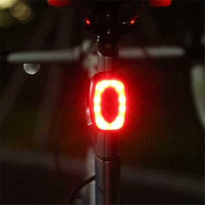 16 LED USB Rechargeable Bike Tail Light Bicycle Safety Cycling Warning Rear Lamp