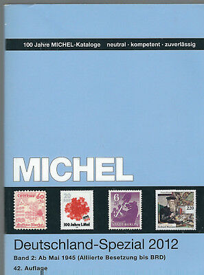 briefmarken katalog michel Deutschland Spezial 2012 Band 2