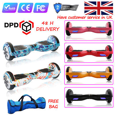 """6.5"""" Self banalcing Scooter Balance Board Electrick Scooter Christmas Gift + Bag"""