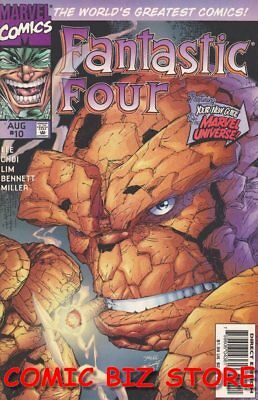 Fantastic Four #10 (1997) 1St Printing Bagged & Boarded Marvel Comics